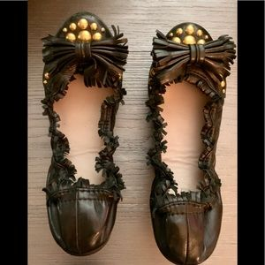 Mui Mui Ballet Flats Size 7